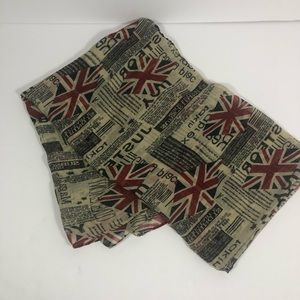 Accessories - UK Flag scarf